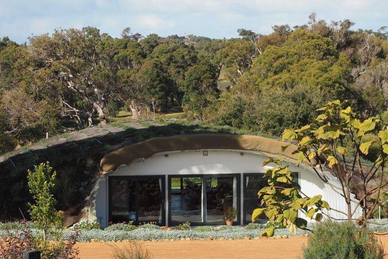 sustainable hobbit home