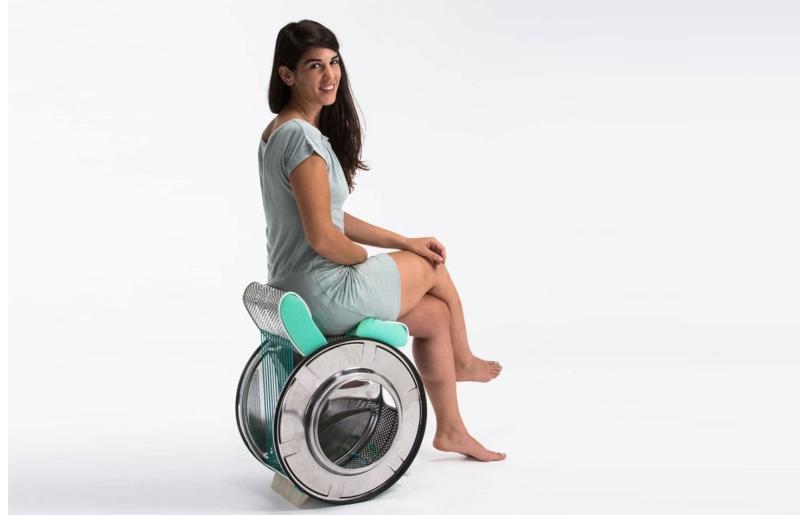 washing machine drum chair