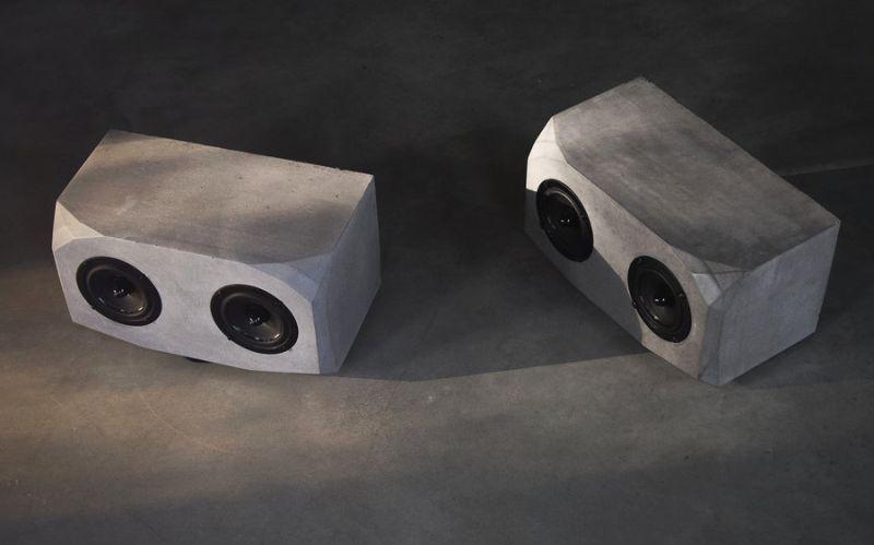 Utopia concrete speaker