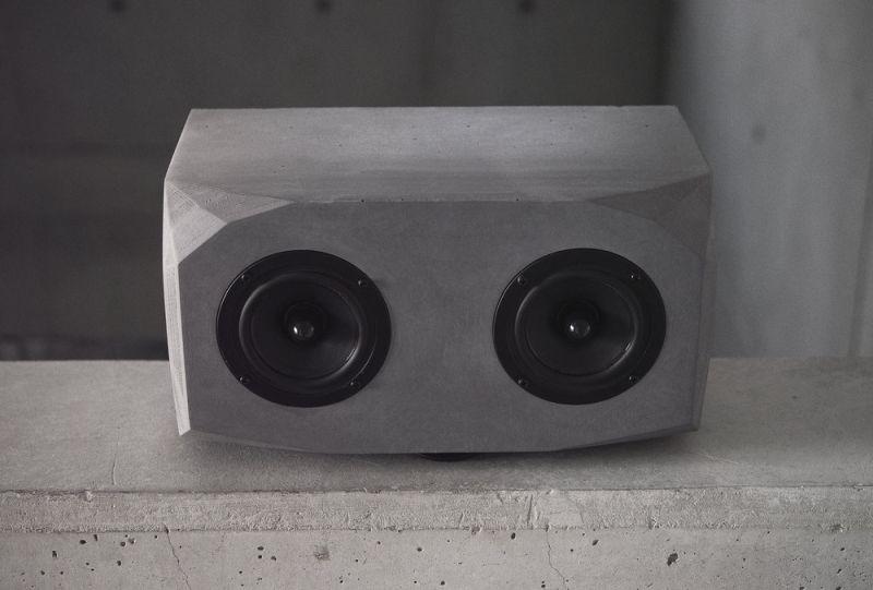 Utopia smart concrete speaker