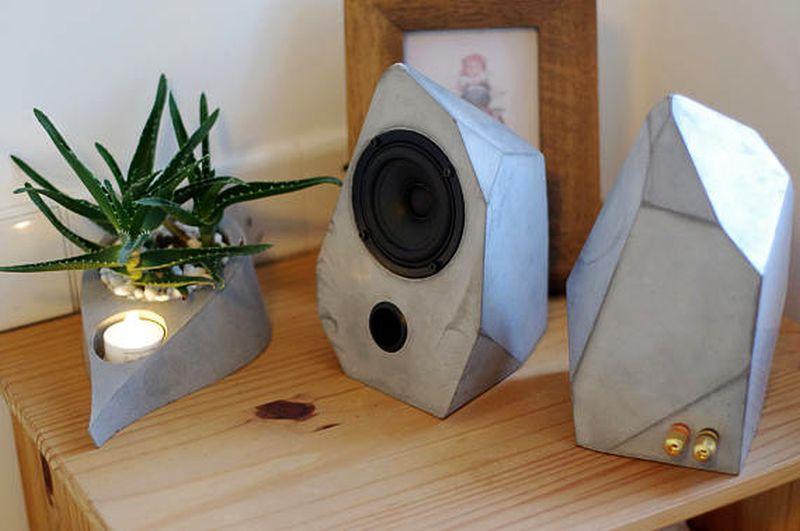 Geometrical speaker by HomeMadeHomeStudio