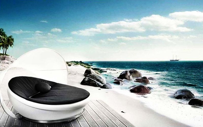 Lounge cum daybed by Solpuri – Lagoon