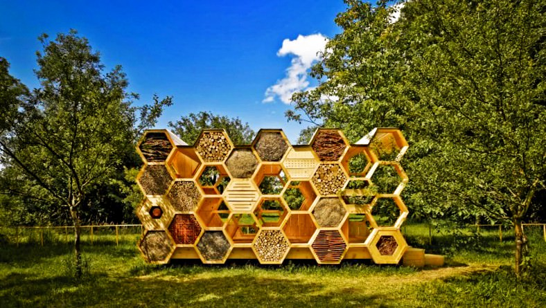 15 amazing bee hotels for our pollinator friends