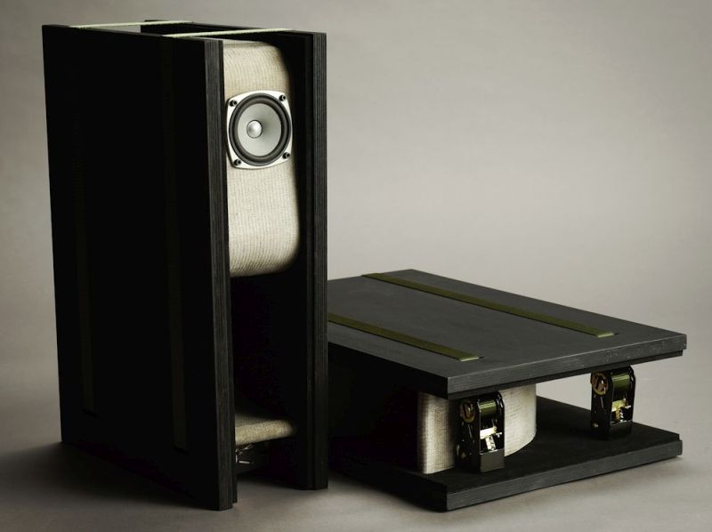 concrete cloth speaker