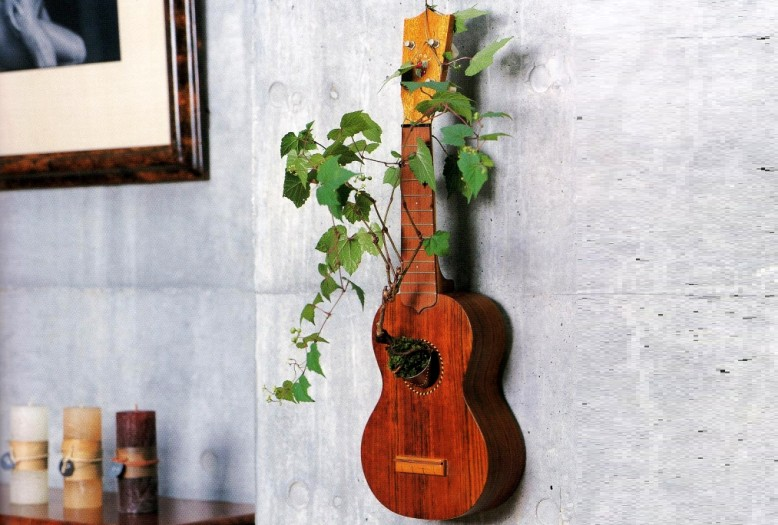 16 creative ways to recycle guitar into beautiful home decors