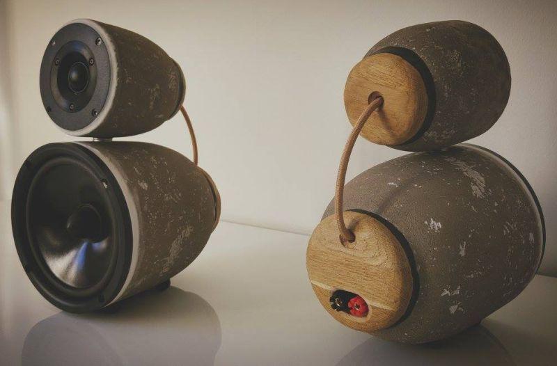 Concrete Speaker StoneBjelk