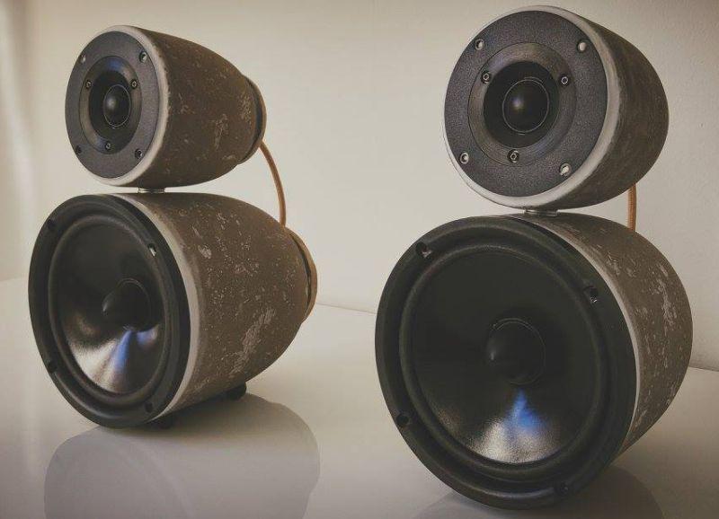 StoneBjelk Concrete Speaker