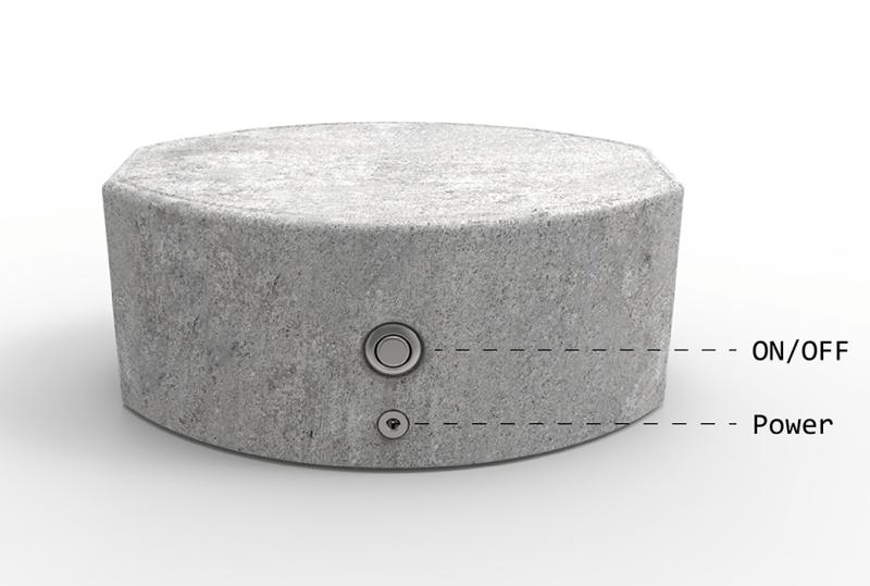 Jambox concrete speaker by Yves Béhar