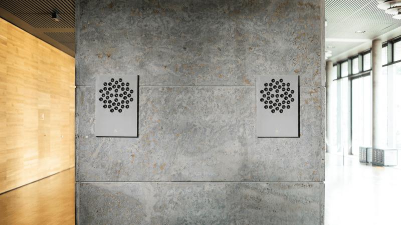 F1 wall speaker
