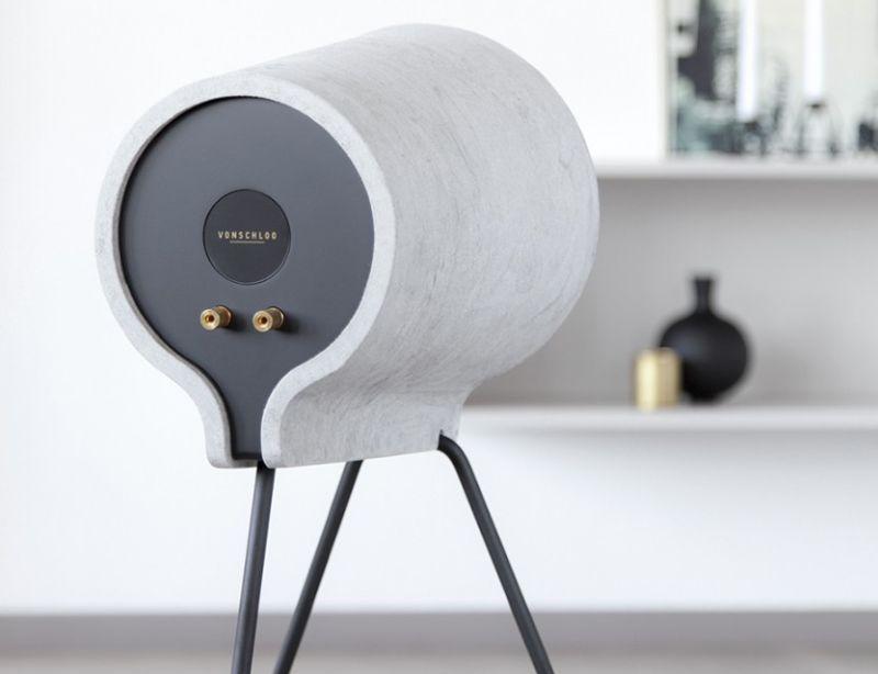 Vonschloo Concrete speaker