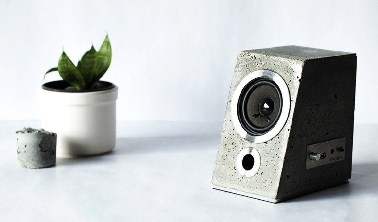 25 concrete speakers that promise best acoustics and longevity