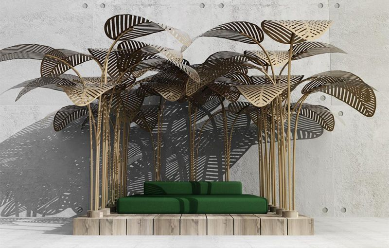 Le Refuge daybed by Marc Ange for outdoors
