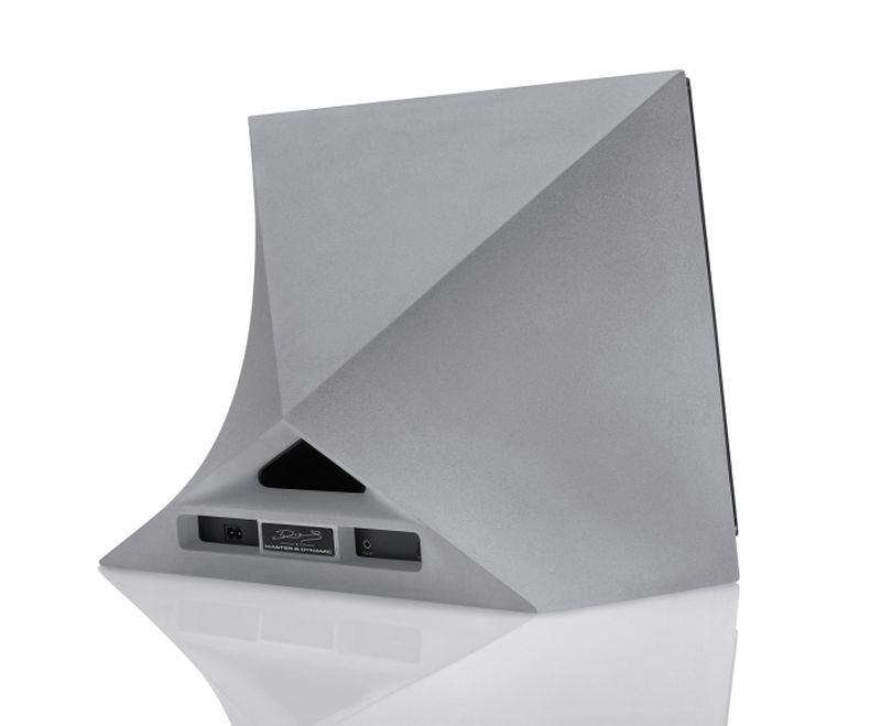 MA770 concrete speaker back look