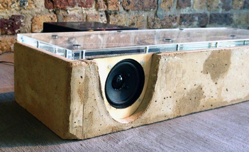 Concrete TL Speaker by Martin Bolton