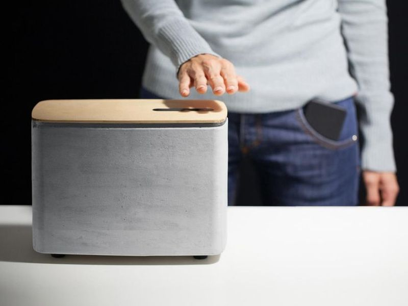 P.A.C.O open-source concrete speaker