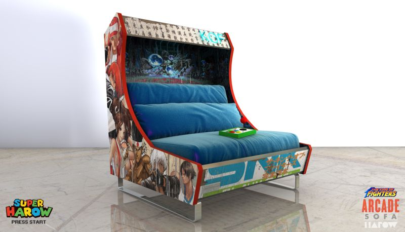 Arcade Sofa by Harow