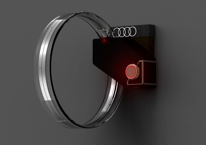 Audi inspired faucet