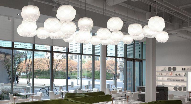 Cloud lamp by Mathieu Lehanneur for Fabbian