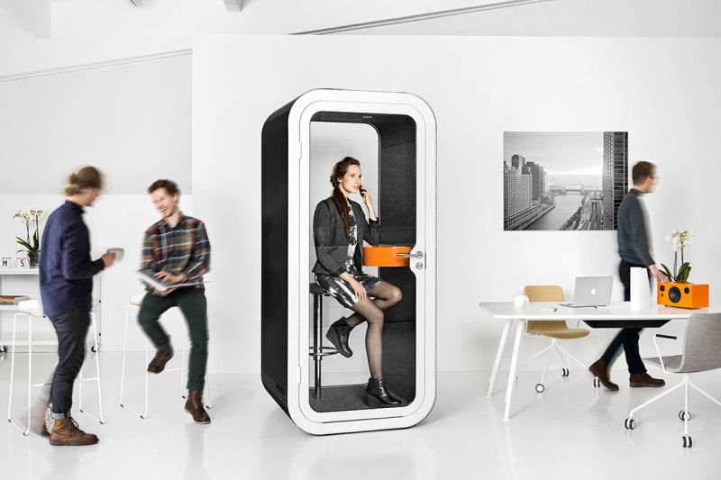 Framery's phone booths and meeting pods