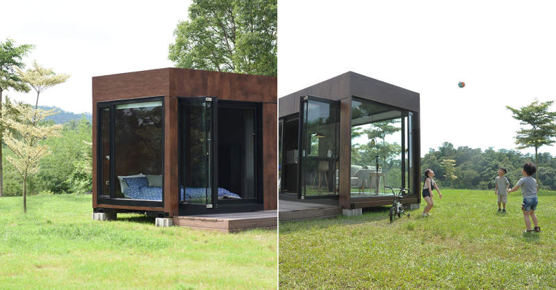 Living iHouse: Taiwan's first smart shipping container house