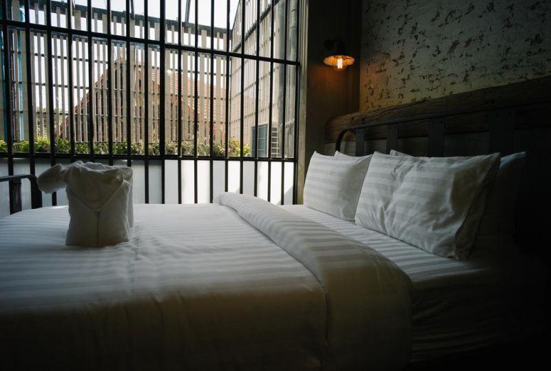 Sook Station prison themed hotel