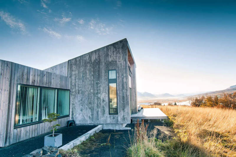 Villa Lola is low-impact Airbnb vacation rental in Iceland