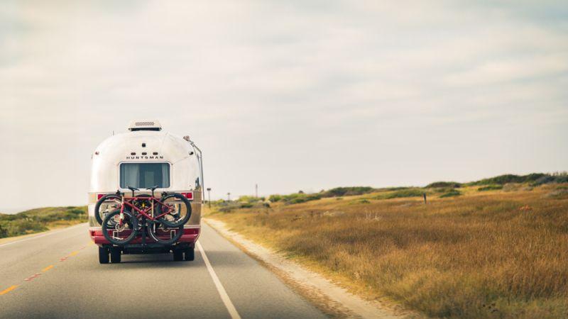 Huntsman, Savile Row tailor built an airstream trailer studio
