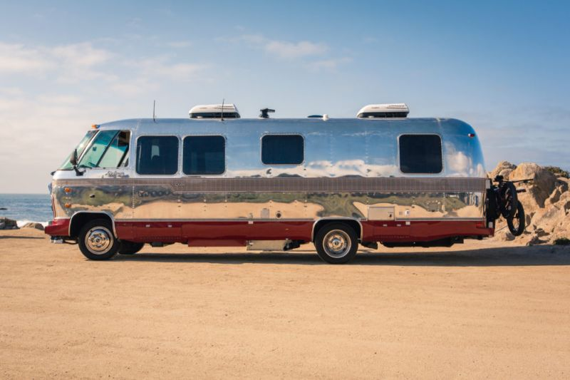 Fully restored by Timeless Travel Trailers