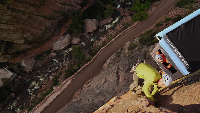 37.5® Technology gave climbers the best gear when they needed it most, mid-climb