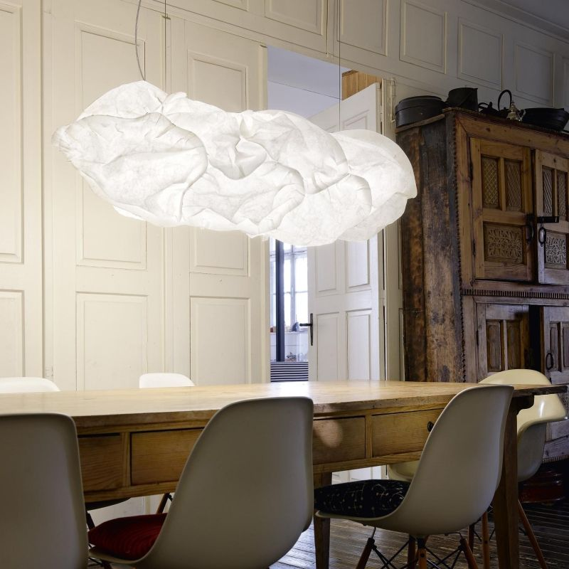 cloud lamp by Frank Owen Gehry