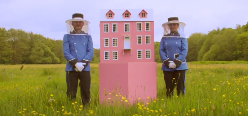 grand budapest hotel by Taylors of Harrogate_