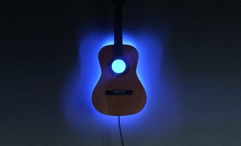 guitar light lamp