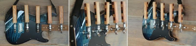 guitar beer tap