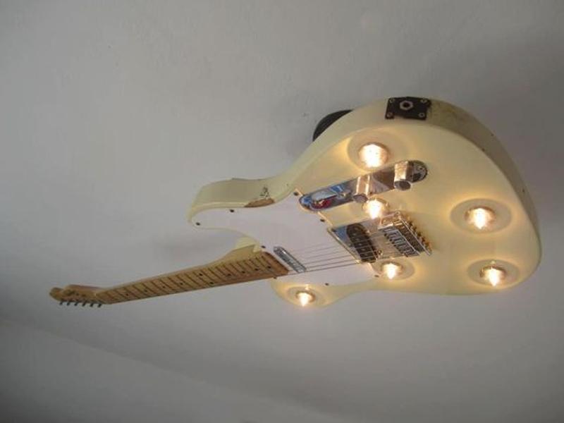 guitar celing light