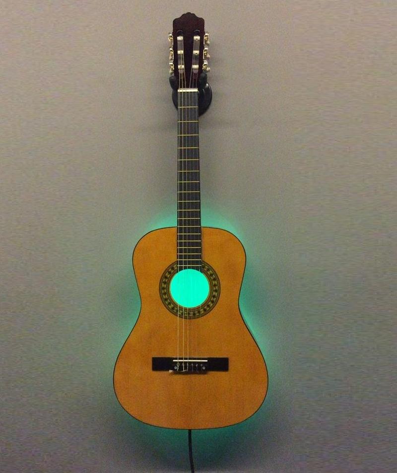 guitar lamp light
