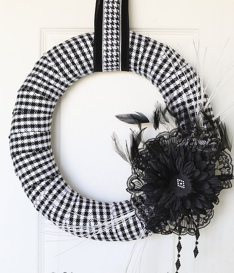 Funky Fabric wreath