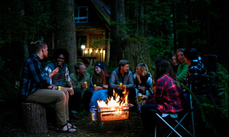 BioLite introduces smokeless wood-burning fire pit