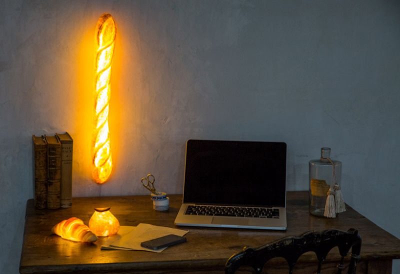 Yukiko Morita bread made LED lamps