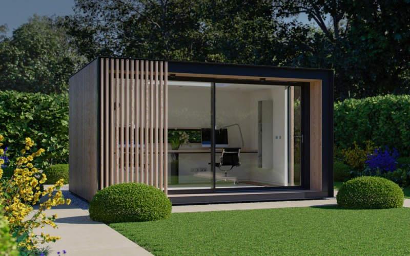 Glide Pod prefab backyard cabin by Pod Space is winner of Red Dot Product Design award 2017