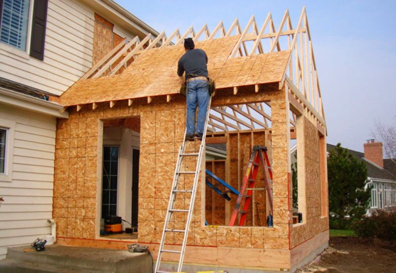 Home addition project