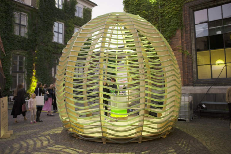 Ikea's future-living lab designs Algae Dome that produces food and oxygen