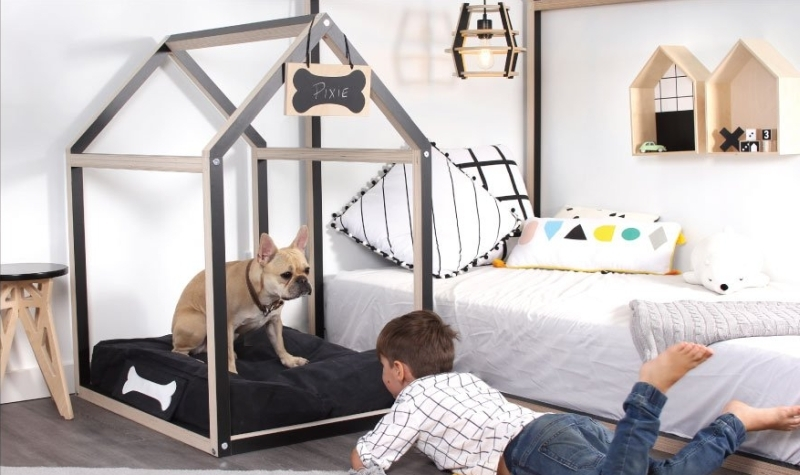 PIXIE BLACK DOGHOUSE by GAUTIER STUDIO_1