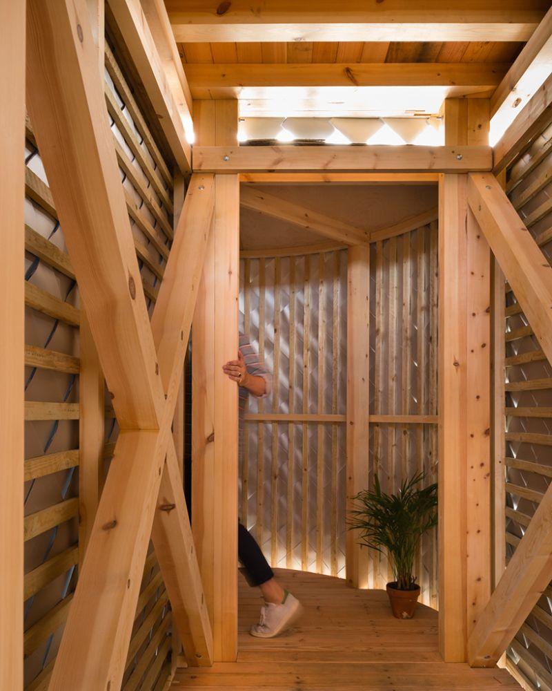 PUP Architects pop-up pavilion