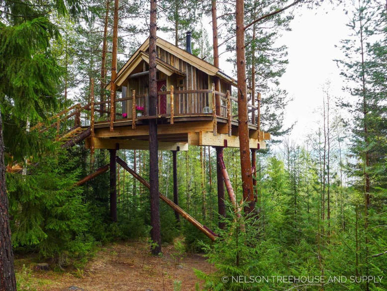 Take a look at Pete Nelson's first ever international treehouse in Norway