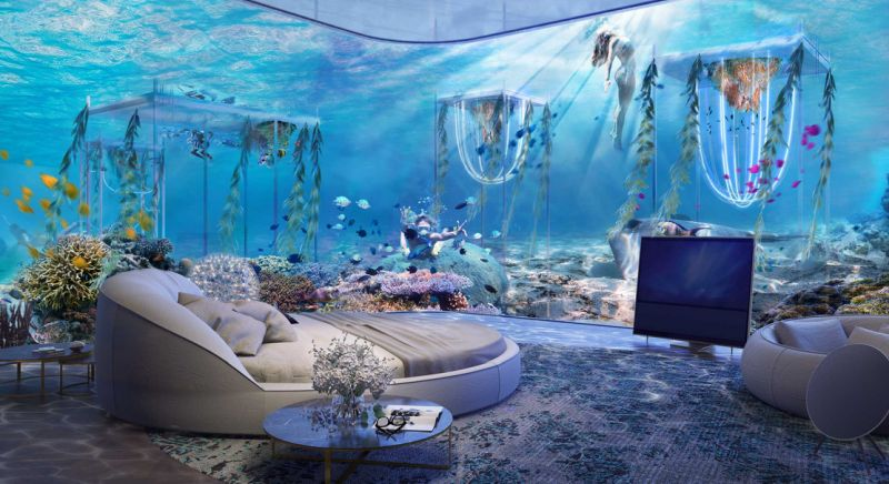 World's first underwater resort floating venice
