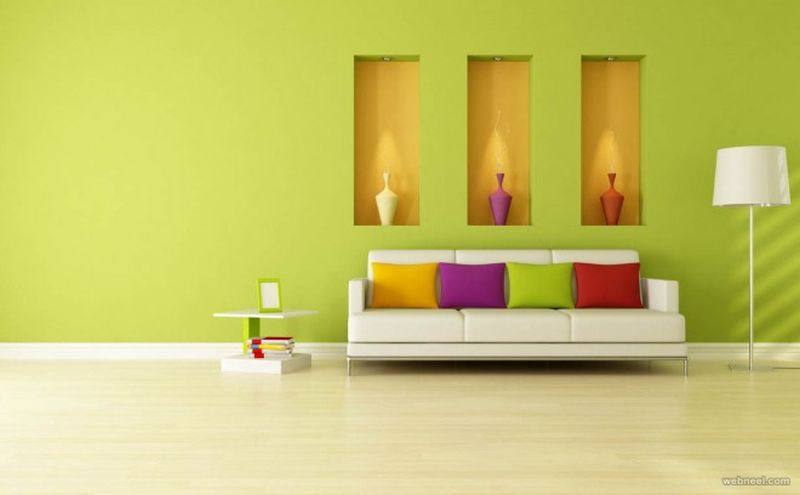 Air purifier Wall paint