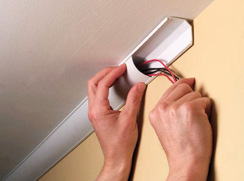 Hide wirings for security