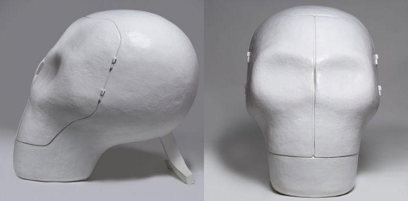 Skull chair - by Joep Van