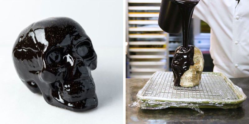 Spook up your Halloween party with Épicerie Boulud's skull cake