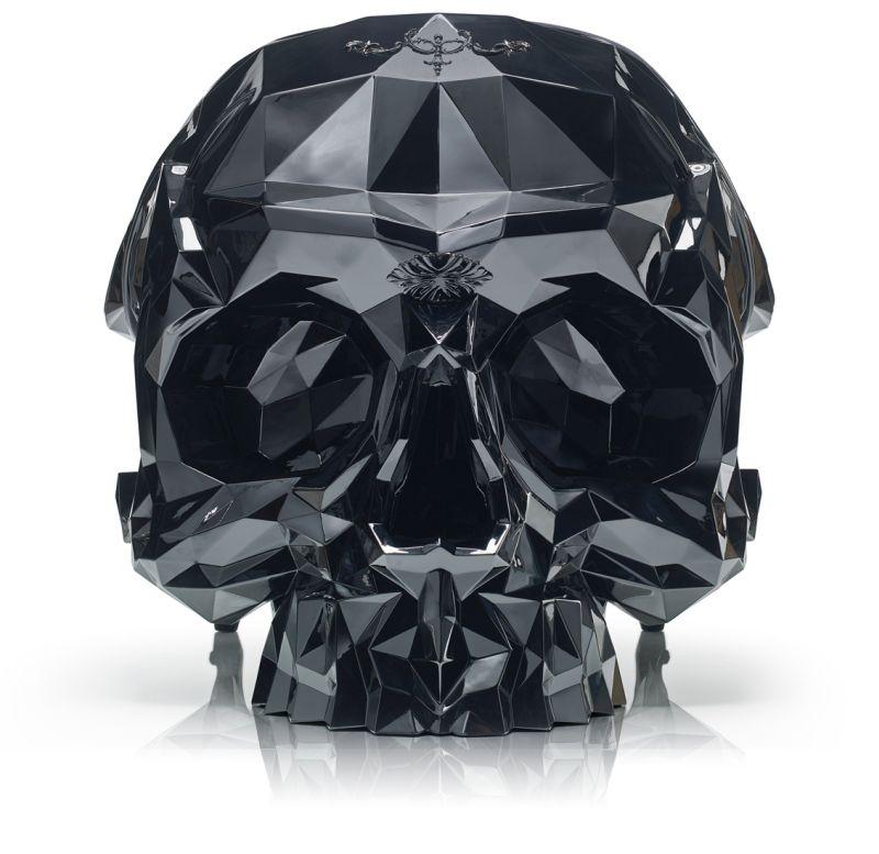 The angular skull armchair by Harrow